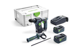 MARTILLO PERFORADOR FESTOOL BHC 18-LI 5,2-PLUS REF. 575697