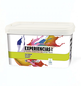 PINTURA INTERIOR EXPERIENCIAS 4L (COLORES SUAVES)