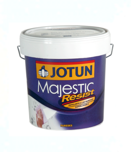 PINTURA INTERIOR LAVABLE MAJESTIC RESIST (128 COLORES) 1275 MILD